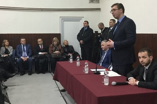 Predsednik Srbije Aleksanadr Vucic