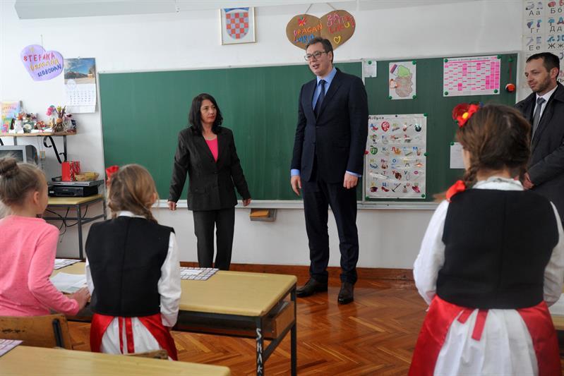 Predsednik Srbije Aleksandar Vucic