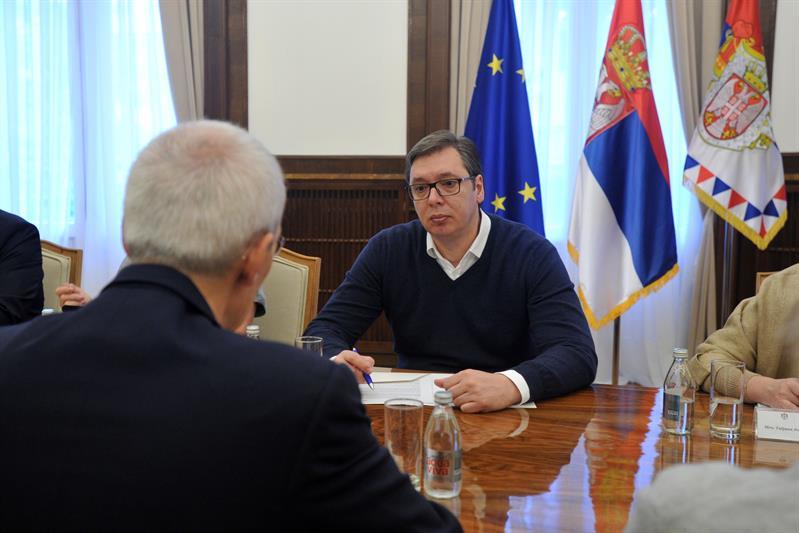 Vucic sa predstavnicima KKR