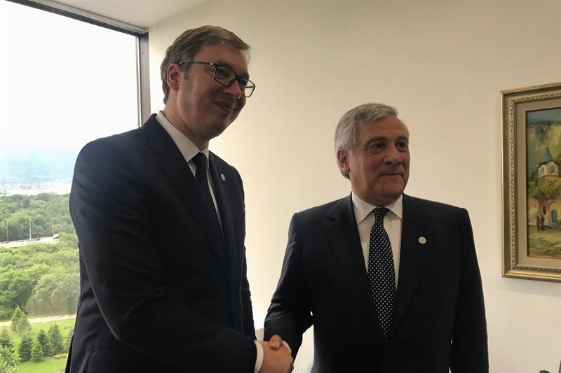 Vucic sa Tajanijem