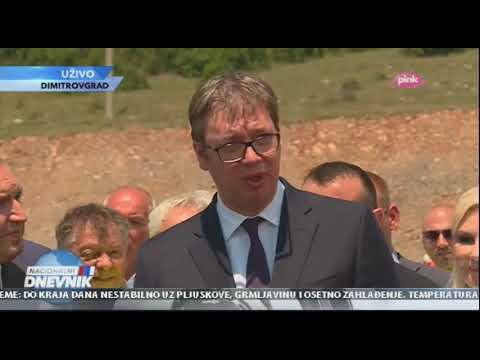 Вучић: Деоница до бугарске границе приводи се крају
