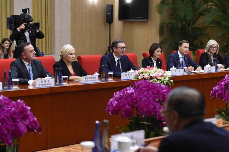 Predsednik Srbije Aleksandar Vucic u Kini.