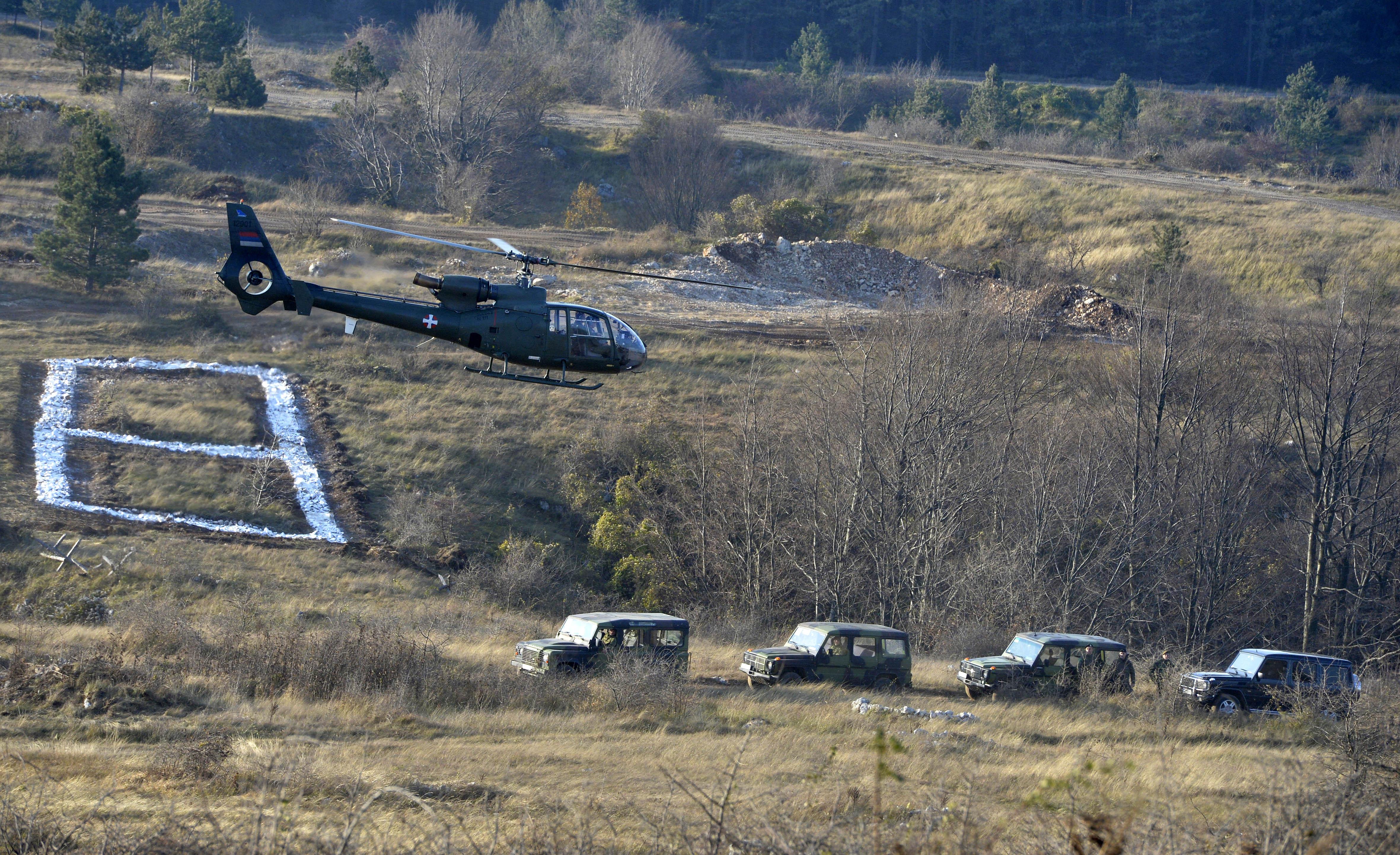 Vucic vezba Vojska Srbije
