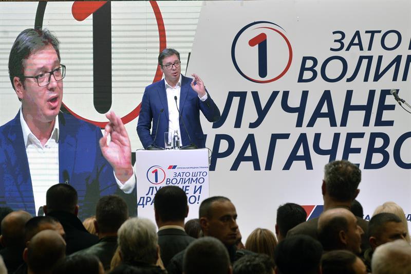 Председник Србије Александар Вучић у Драгачеву.