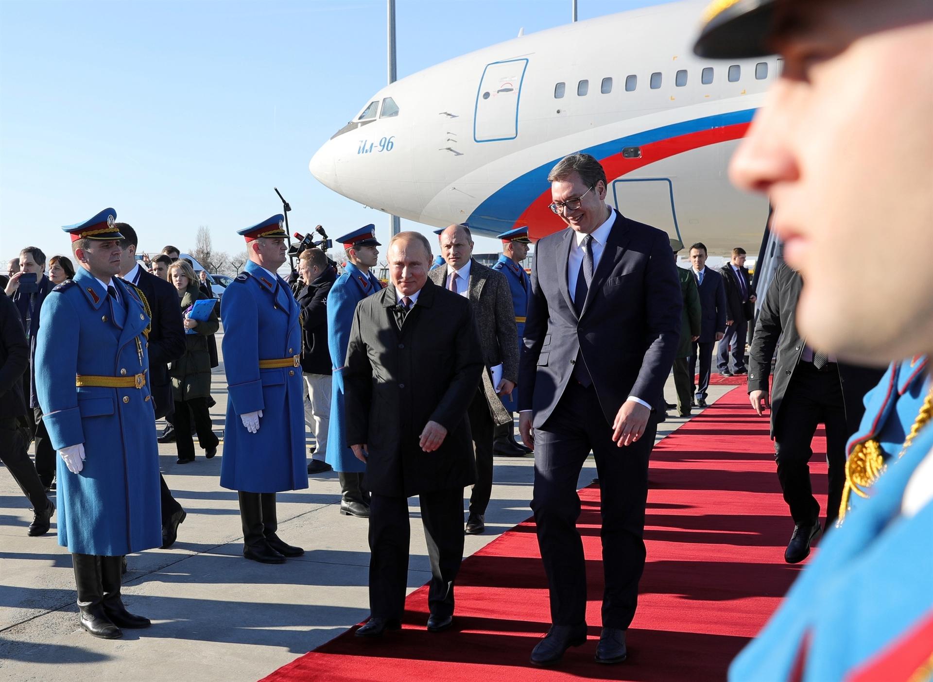 Poseta Vladimira Putina Srbiji
