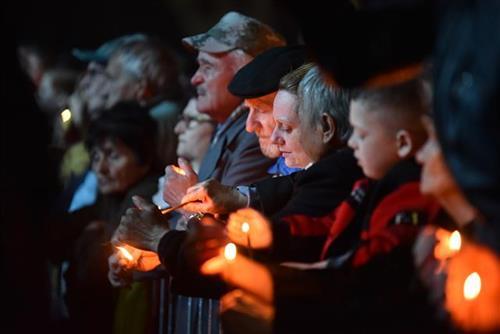Грађани Ниша поводом Дана сећања на НАТО бомбардовање