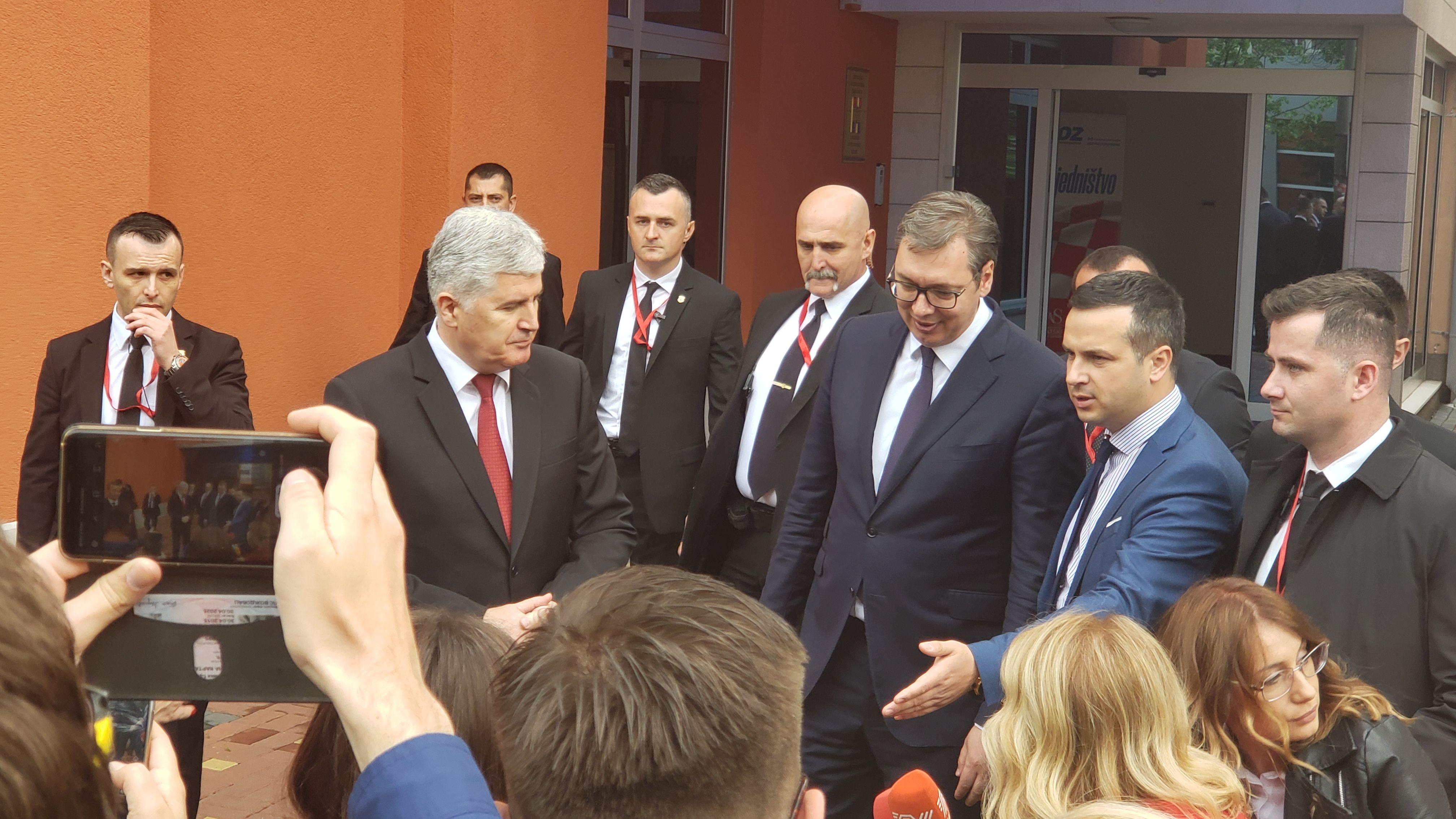 Vucic u Mostaru