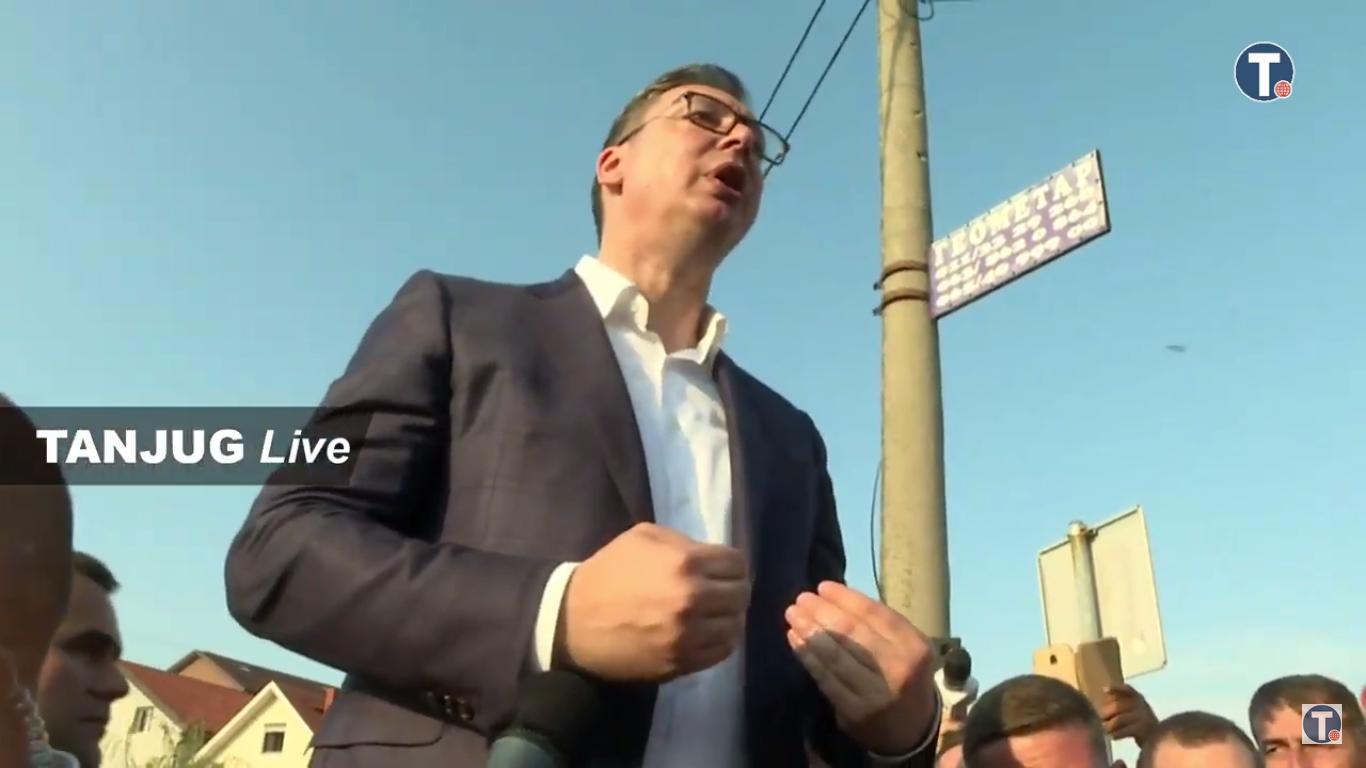 Вучић Борча Невреме Ситуација 0033