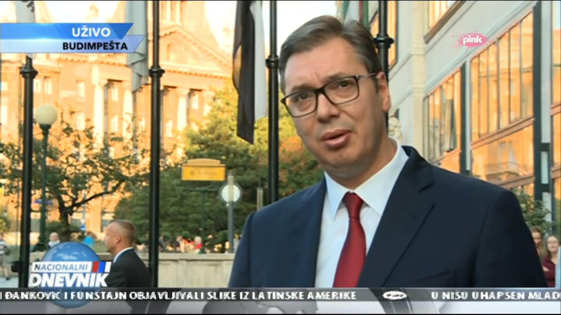 Vucic u Budimpesti - uzivo ukljucenje TV Pink