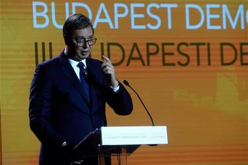 Predsednik Aleksandar Vucic obratio se prisutnima na samitu u Budimpesti.