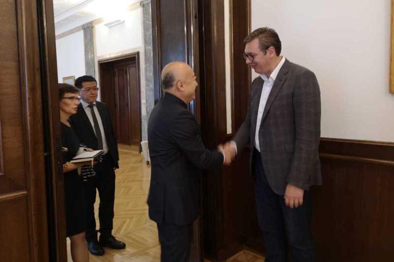 Председник Републике Србије Александар Вучић састао се данас са Ванг Ксудонгом, директором пекиншког Музеја Забрањени град, једним од најважнијих музеја у Кини и свету, који садржи скоро два милона експоната.