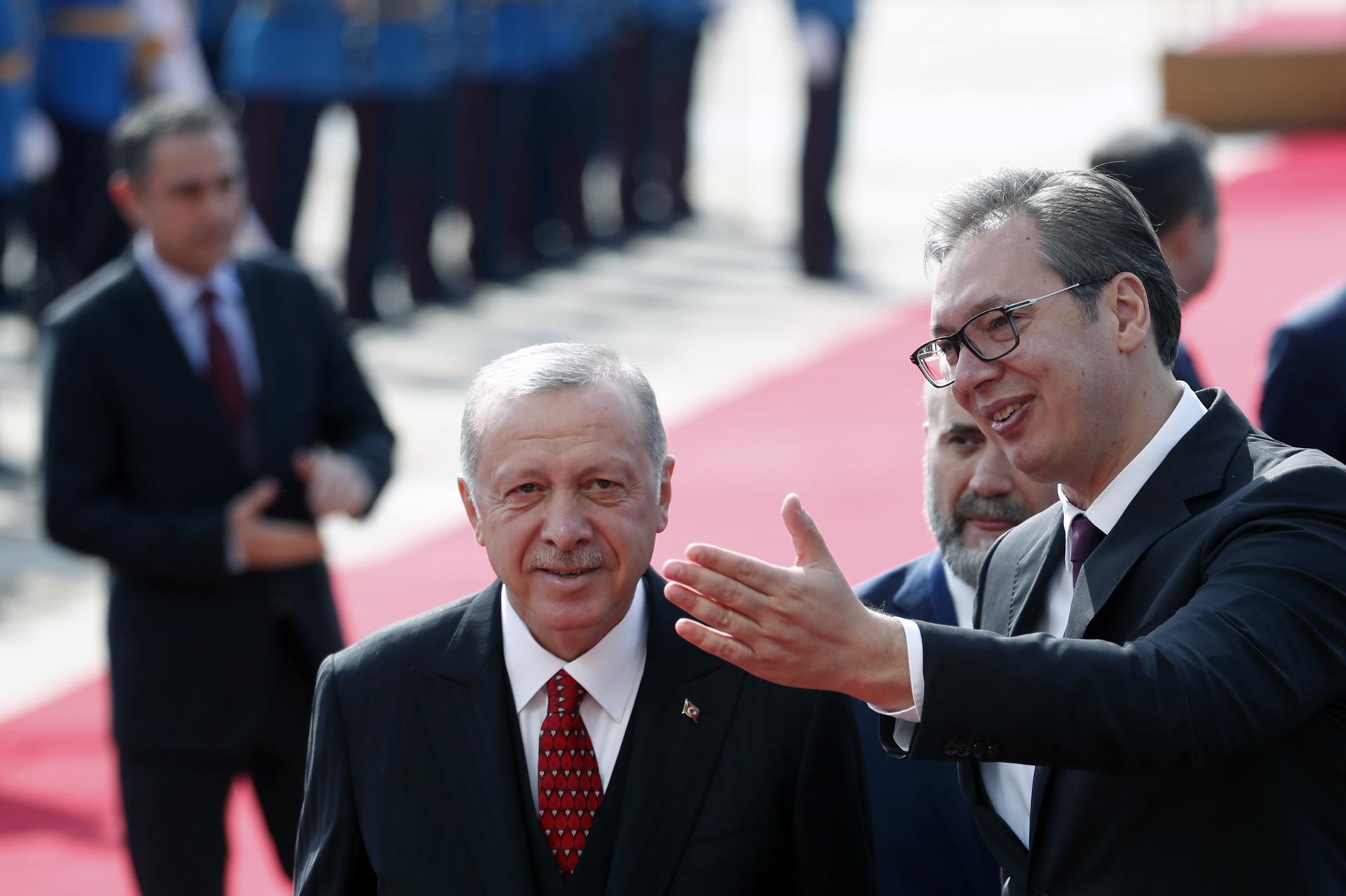 Вучић Ердоган Посета Србија 0010