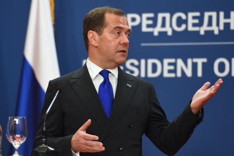 Medvedev na konferenciji.