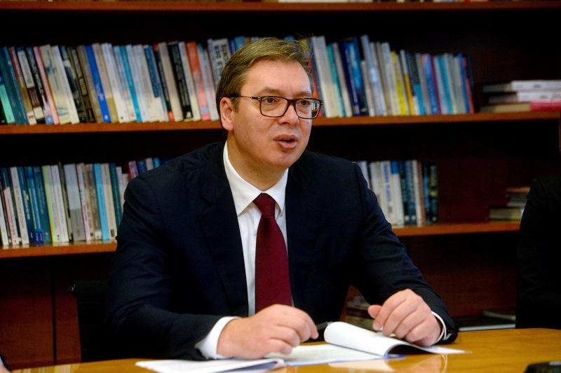 Председник Србије Александар Вучић у Женеви.