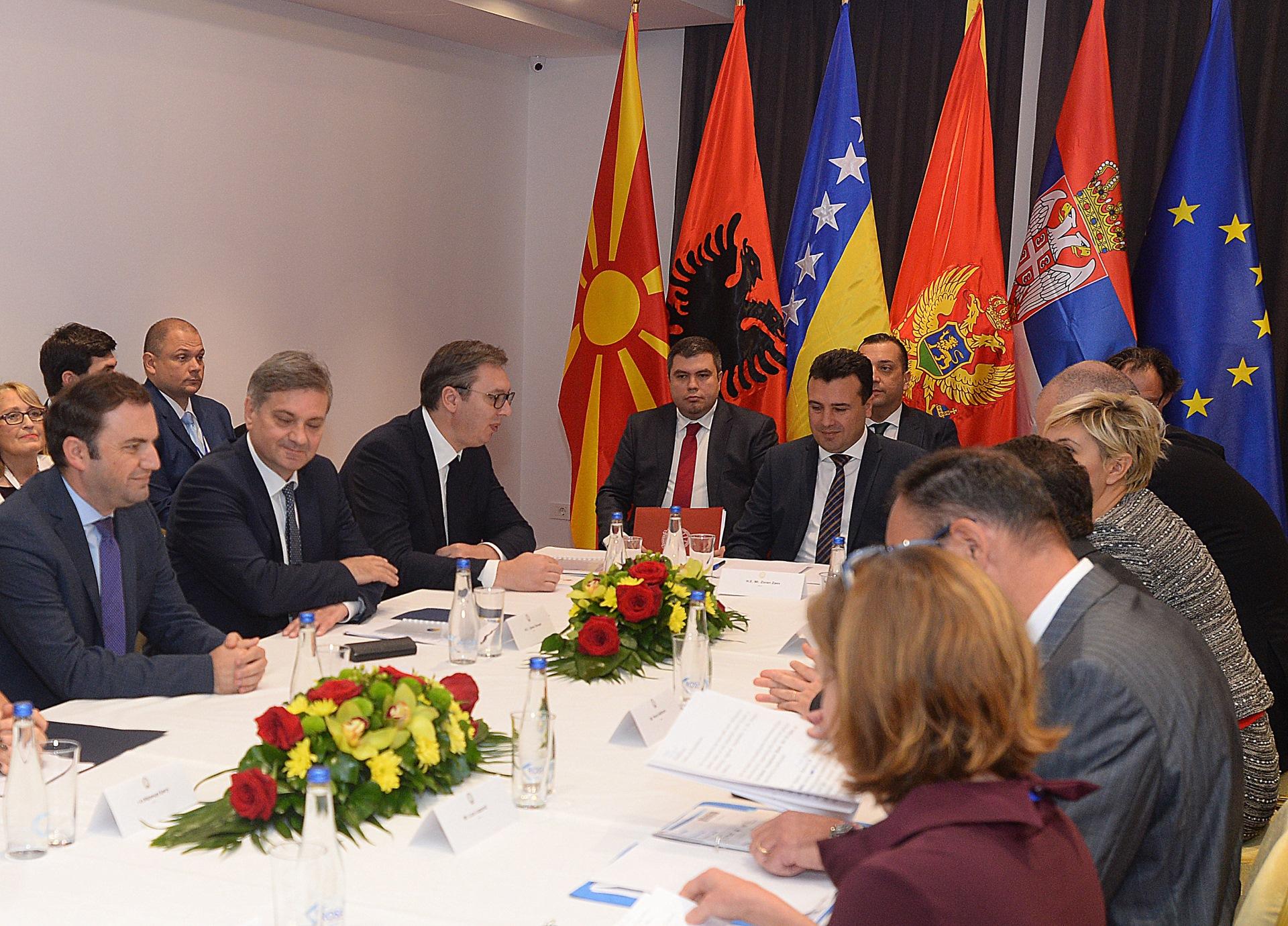 Predsednik Srbije Aleksandar Vucic dobri sastanci i odluke u Ohridu, ocekujem napade