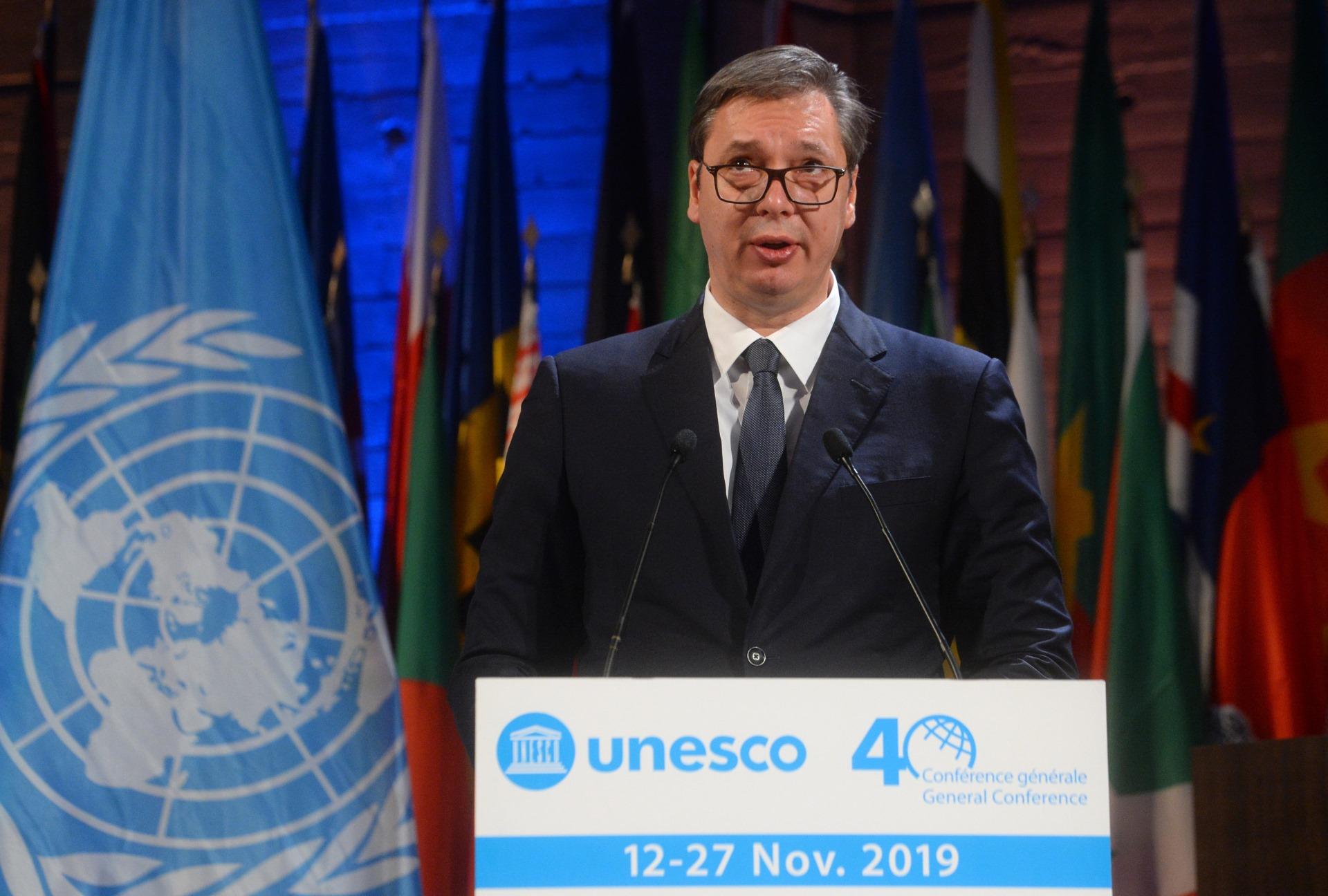 Vucic UNESCO