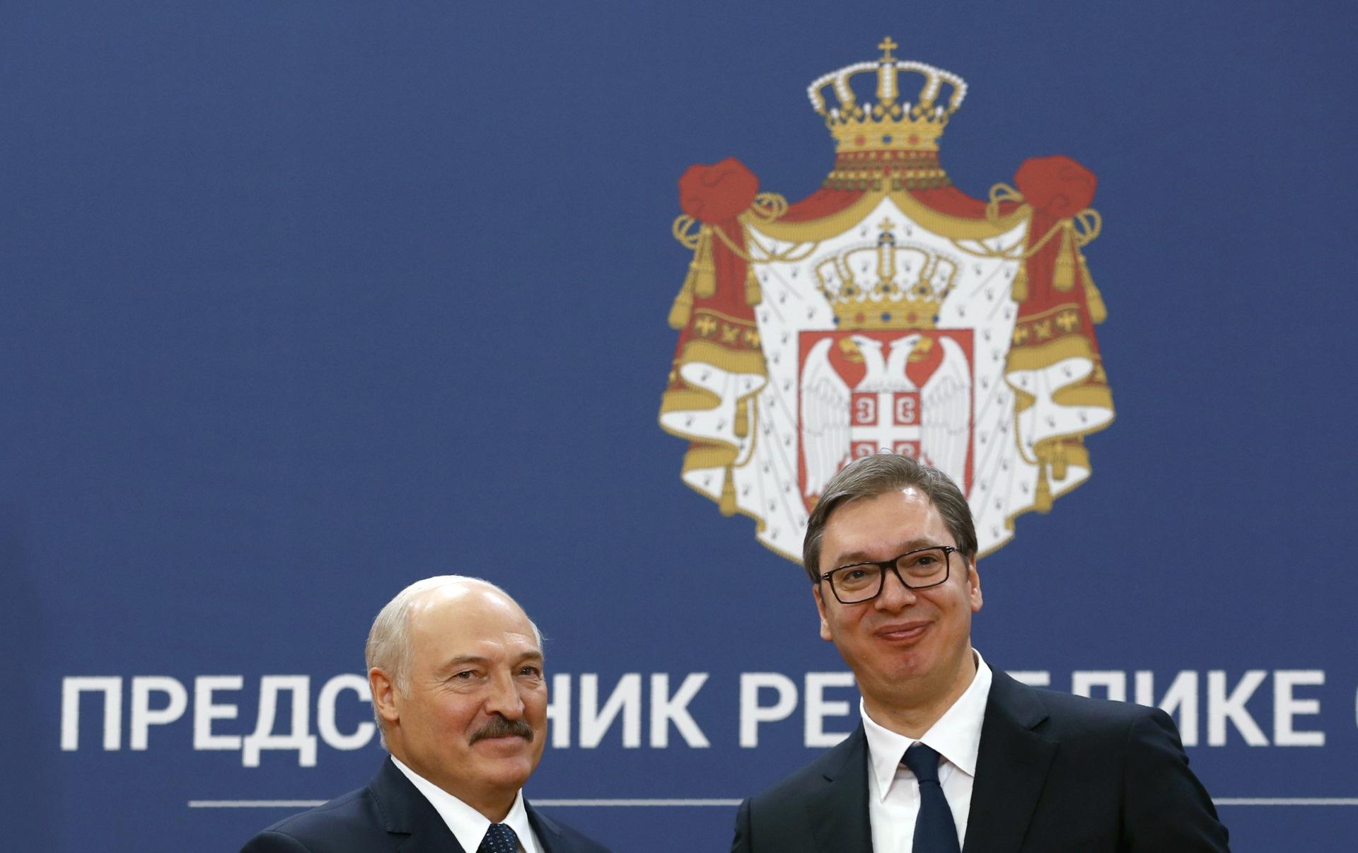 Vucic sa Lukasenkom