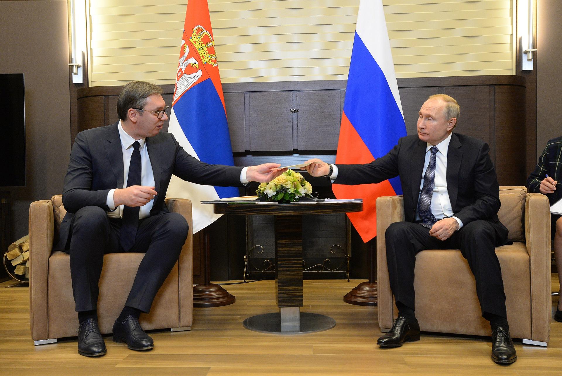Вучић Путин Посета Русија 0008