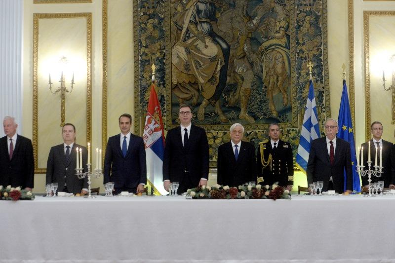 Свечана вечера-Атина
