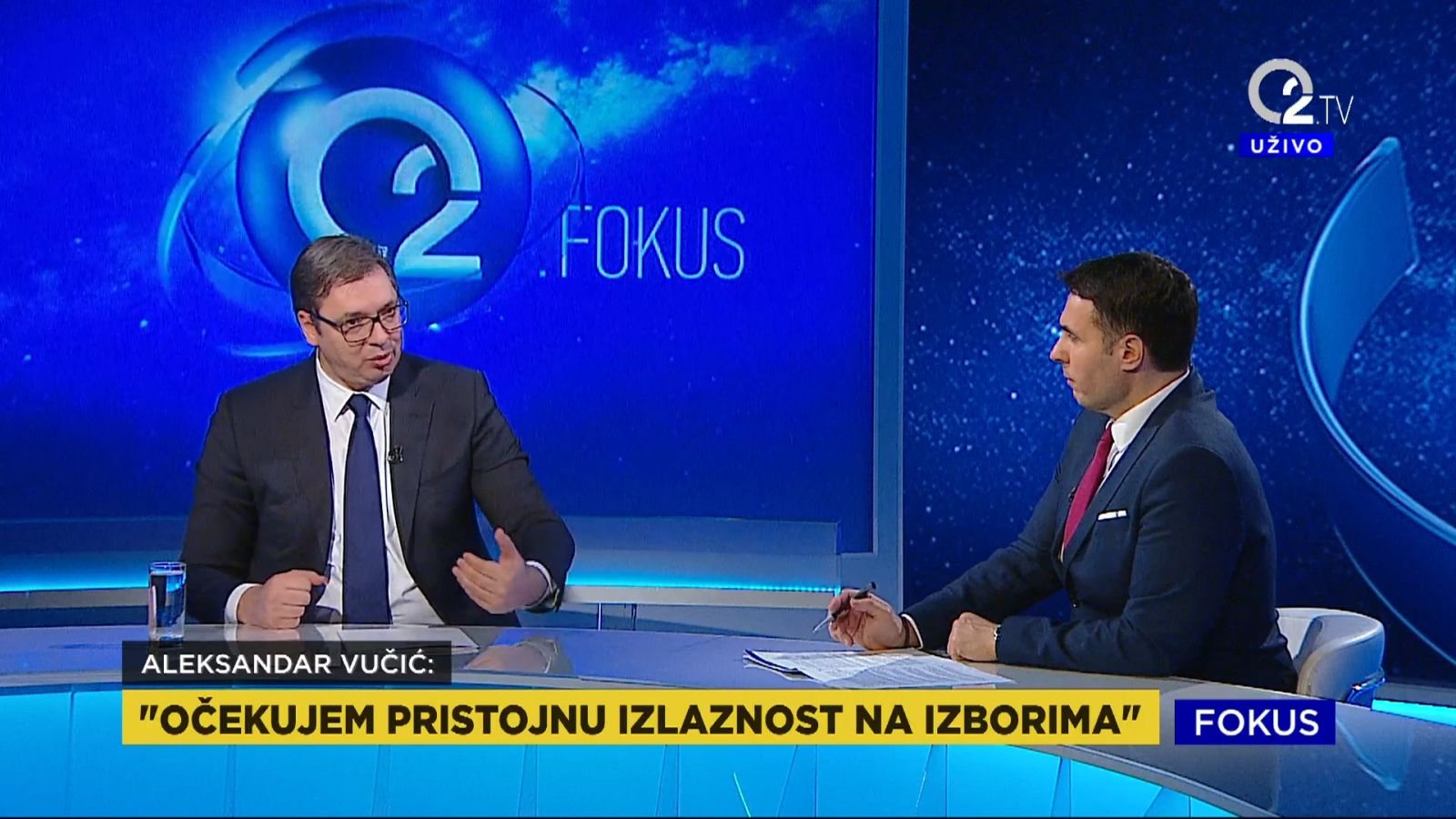 Predsednik Aleksandar Vucic o izlaznosti na buducim izborima.