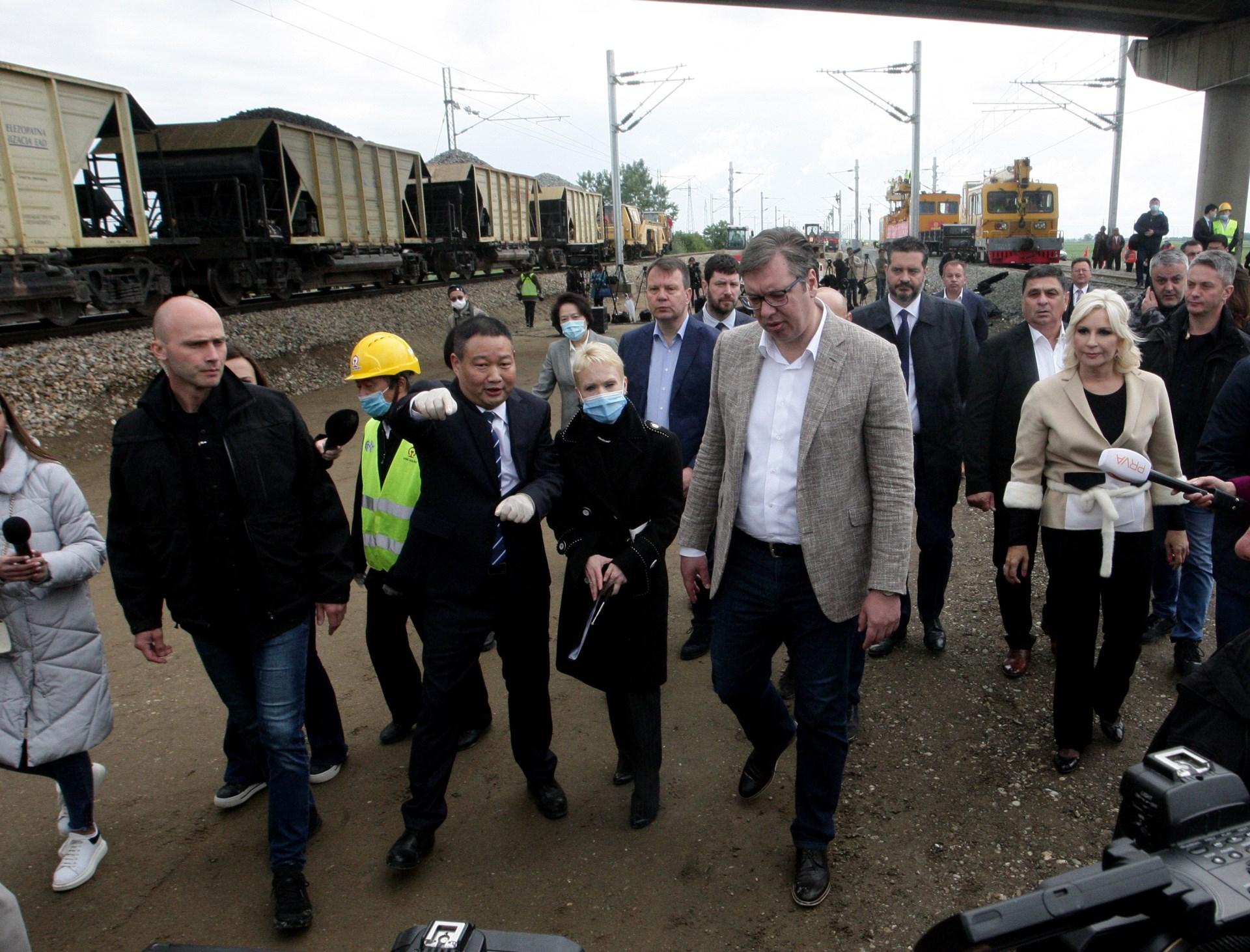 Pruga Beograd - Stara Pazova u saobracaju do kraja marta.
