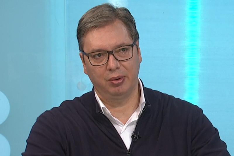 22.07.2020. godine Vucic uzivo ukljucenje u Dnevnik RTS1