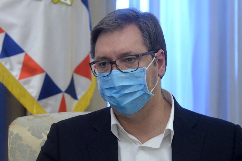 Председник Србије Александар Вучић.