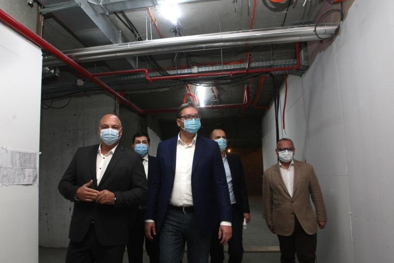 Predsednik Srbije Aleksandar Vucic Klinicki centar Srbije za 11 meseci, jacanje zdravstva snazi moc Srbije