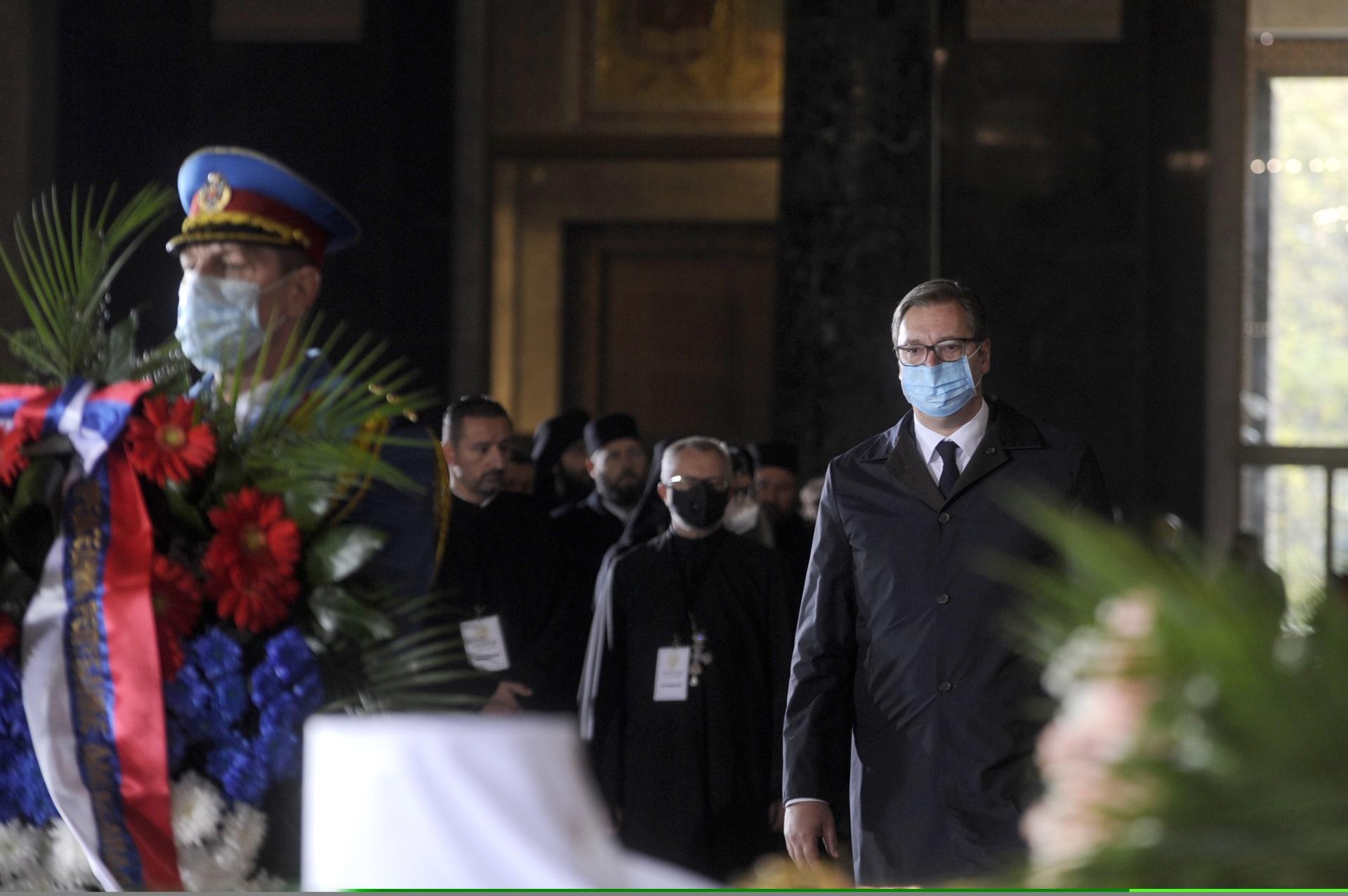 Predsednik Srbije Aleksandar Vucic Patrijarhova Srbija bila je Srbija mira i okupljanja