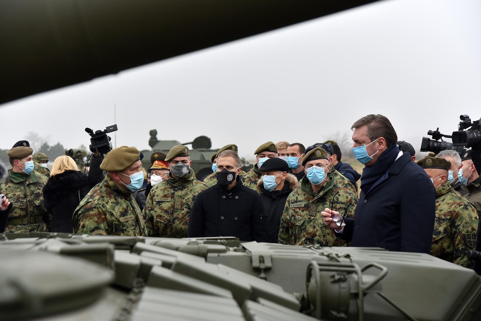 Tenkovi dobijeni od Rusije znacajan pomak.