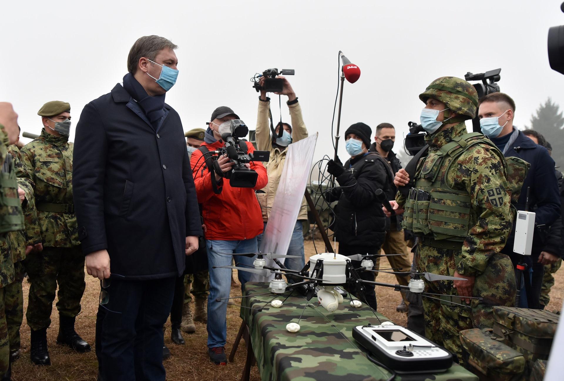 Tenkovi dobijeni od Rusije znacajan pomak