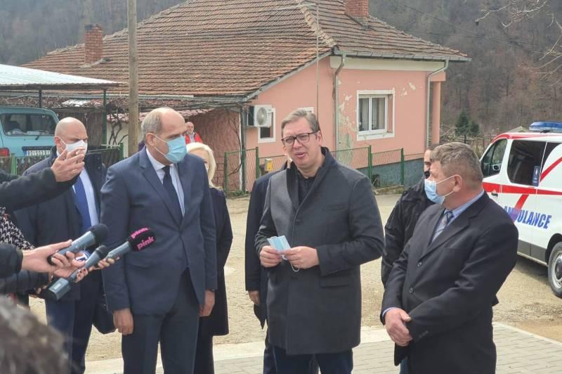 Председник Србије Александар Вучић у Рудној Глави.