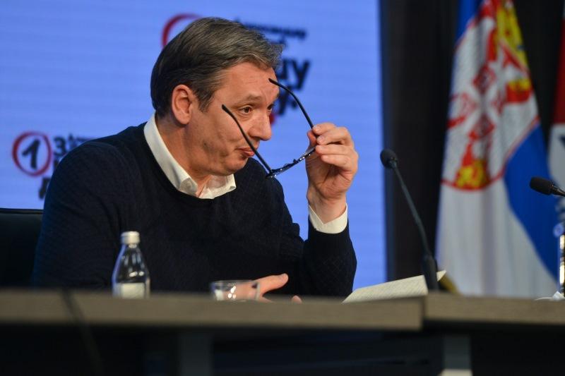 Predsednik Srbije Aleksandar Vucic pozvao Sapica na ujedinjenje