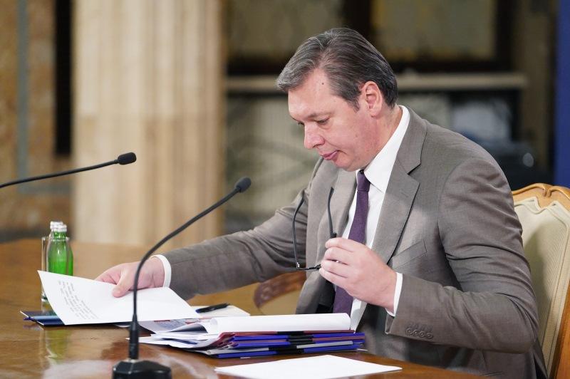 Predsednik Srbije Aleksandar Vucic svi sporazumi sa Pristinom objavljeni su na sajtu Kancelarije za KiM