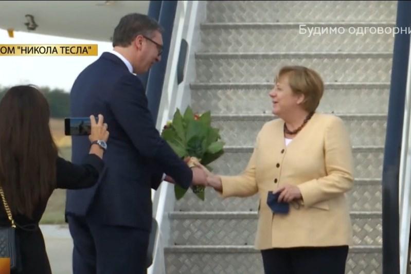 Вучић и Меркел