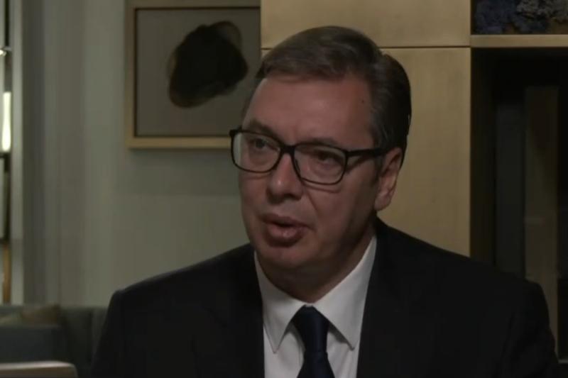 Predsednik Srbije Aleksandar Vucic Srbija vise nije dzak za udaranje