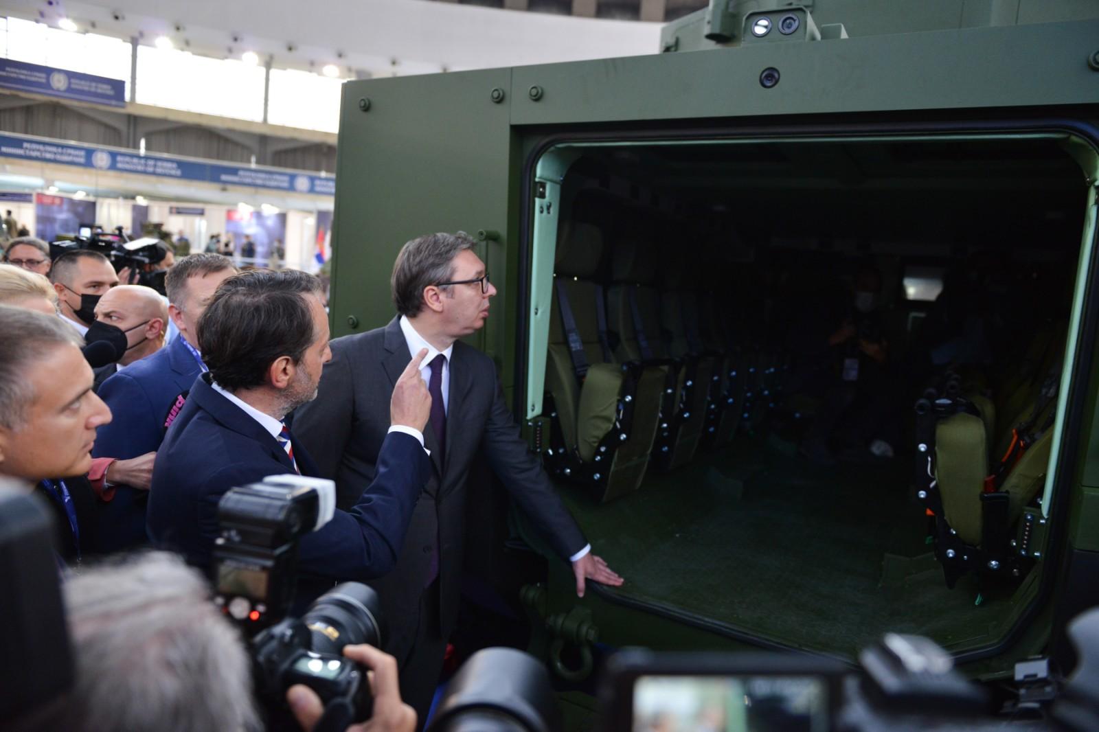 Јубиларни 10. Међународни сајам наоружања и војне опреме Партнер 2021