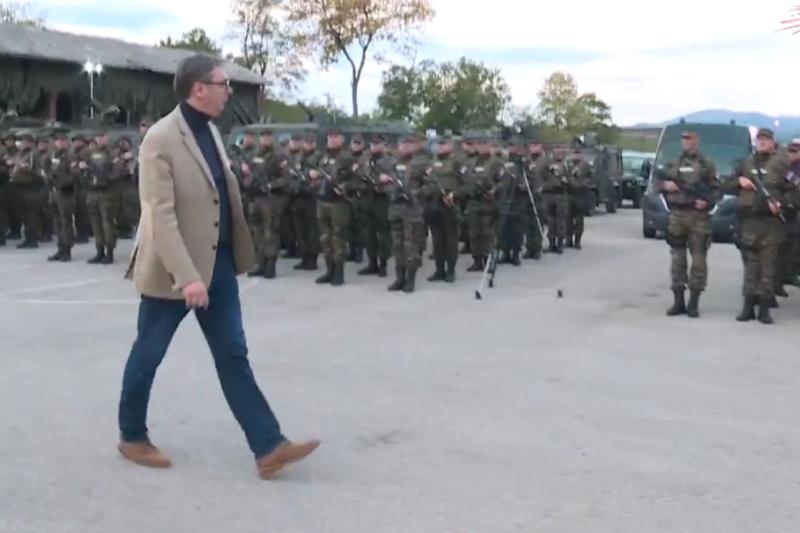 Predsednik Srbije Aleksandar Vucic cuvacemo mir, ali ako napadnu moracemo da zastitimo narod